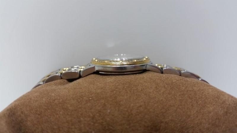 Raymond Weil Geneve Tango 5360 Swiss Diamond Bezel Two Tone Women's Watch w/ Box