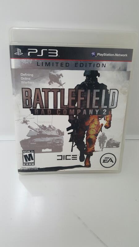 Sony PlayStation 3 BATTLEFIELD BAD COPMANY 2