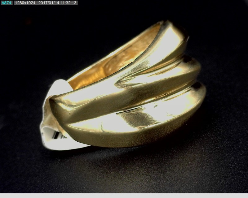 LADY'S GOLD BAND 14K YELLOW GOLD 5.9G SZ6.25