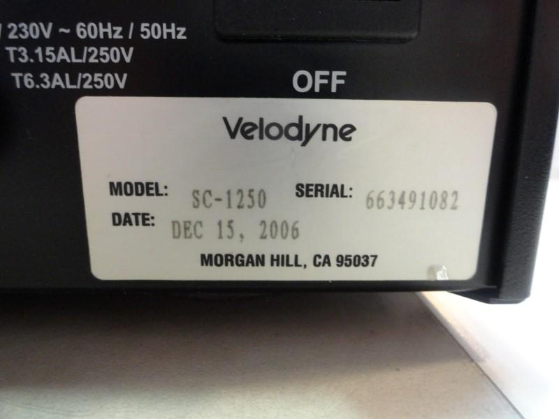 Velodyne SC-1250 Subwoofer Amplifier