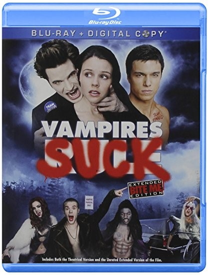VAMPIRES SUCK! COMEDY BLU-RAY MOVIE