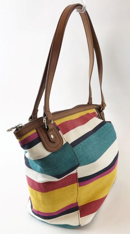RELIC Handbag STRIPED CAPRI TOTE