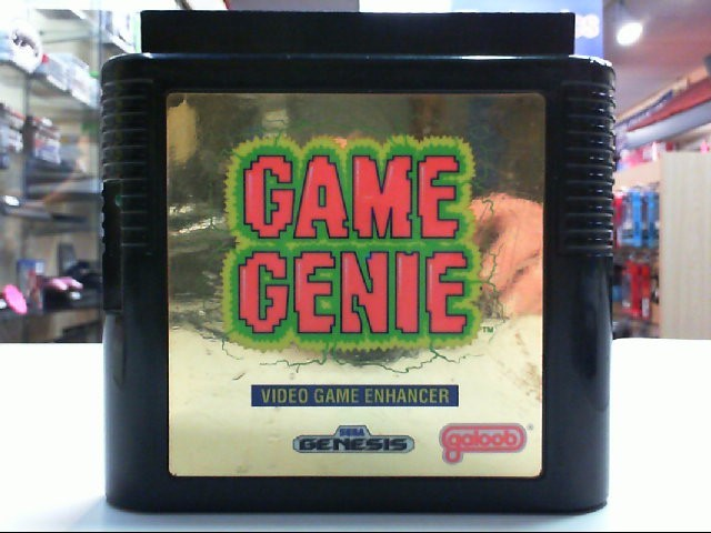 Sega Genesis Game Genie Video Game Enhancer