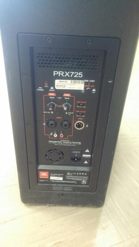 JBL PA System PRX725