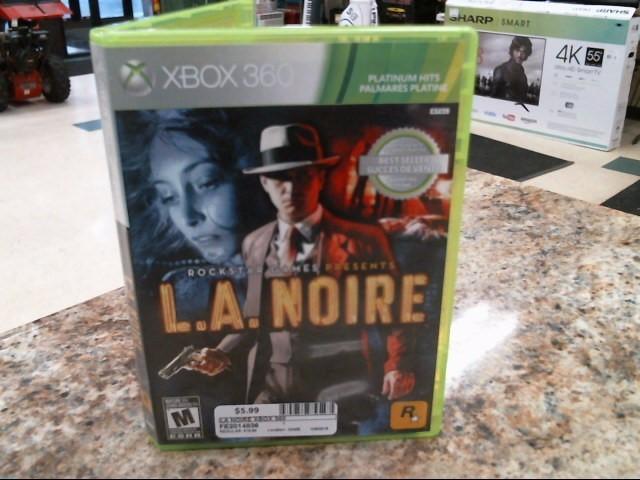 MICROSOFT Microsoft XBOX 360 Game LA NOIRE XBOX 360