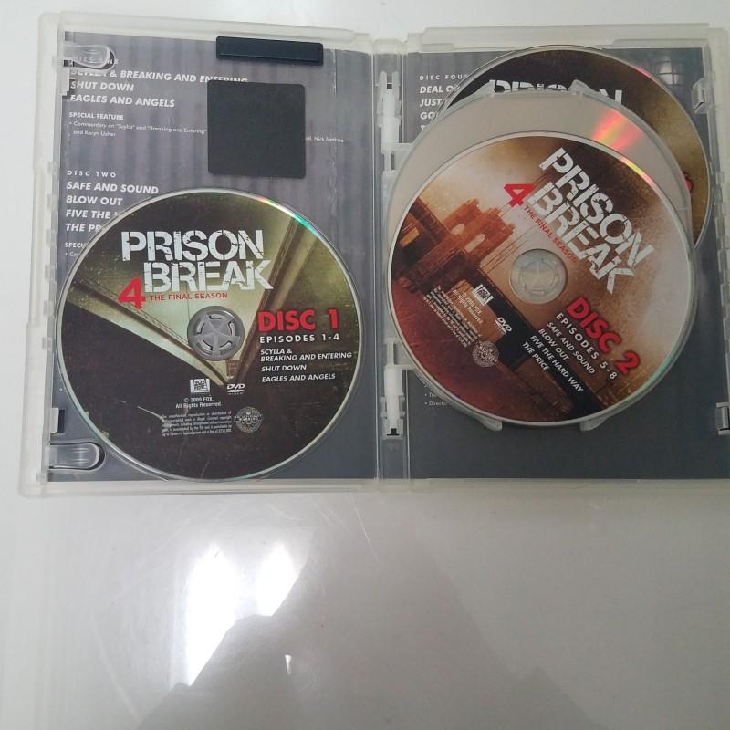 Prison Break Season 4 on DVD