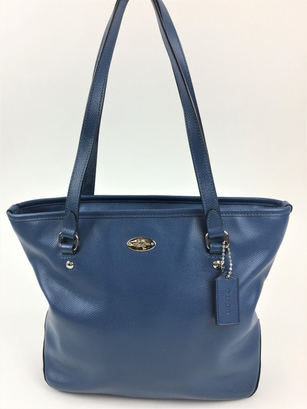 COACH F35204 CITY LEATHER TOTE