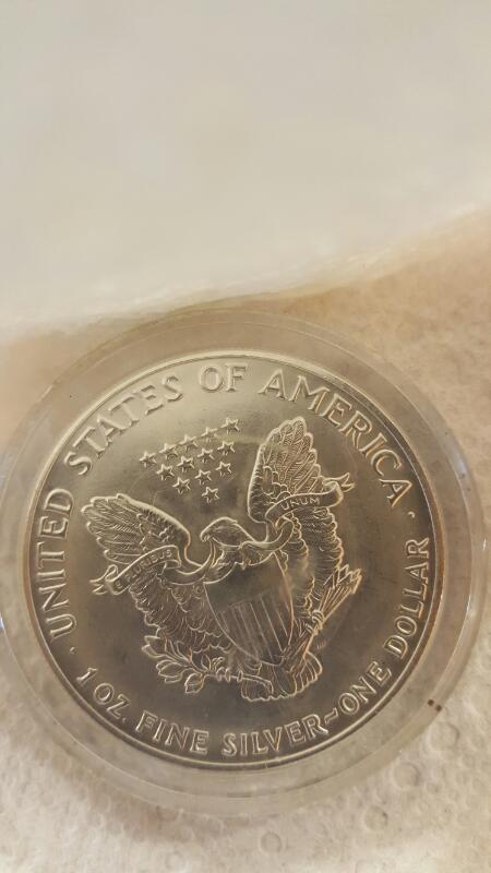 1991 American Eagle Silver Coin - Walking Liberty