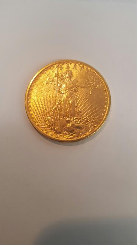 UNITED STATES Gold Coin ST. GAUDENS 20 DOLLAR - 1908
