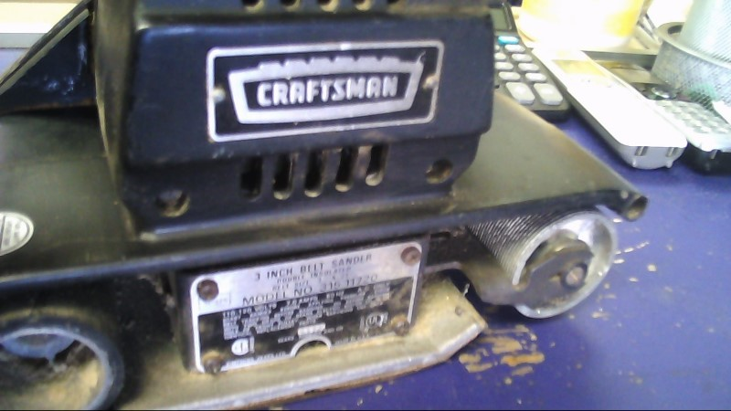 CRAFTSMAN Belt Sander Model 31511720