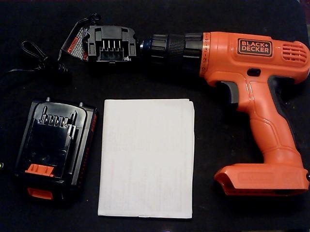 BLACK&DECKER Cordless Drill LD120C