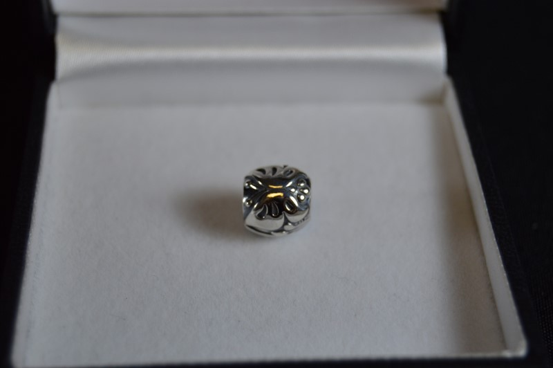 Retired Authentic Pandora Silver Majestic Butterfly Charm #790524