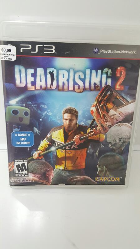SONY PS3 DEAD RISING 2