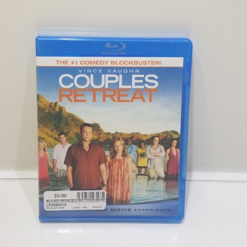 BLU-RAY MOVIE Blu-Ray COUPLES RETREAT