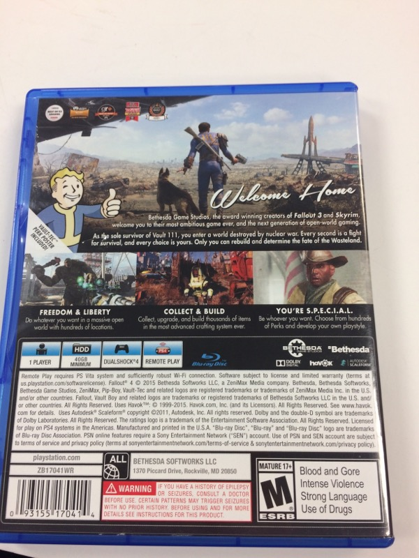 SONY Sony PlayStation 4 Game FALLOUT 4 - PS4