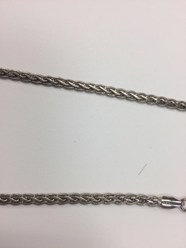 """20"""" Silver Fashion Chain 925 Silver 15.5g"""