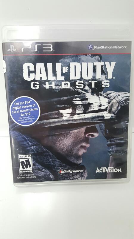 Sony PlayStation 3 Game CALL OF DUTY GHOSTS - PS3