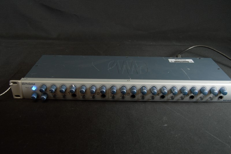 Presonus HP60 6-Channel Amplifier Headphone Amp (READ NOTES)