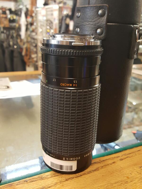 LENS PHOTOGRAPHY EQUIP PHOTOGRAPHY EQUIP SIGMA; 75-300MM LENS IN CASE, FITS CANN
