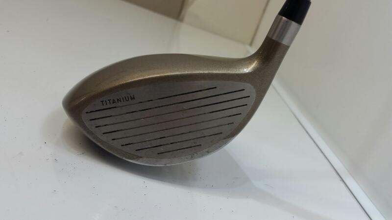 Tommy Armour 845s Titanium G Force 3.3 Hybrid Fairway 3 Wood Stiff Golf Club