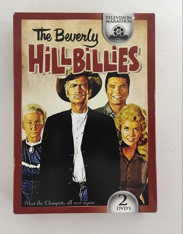 DVD BOX SET THE BEVERLY HILLBILLIES TELEVISION MARATHON