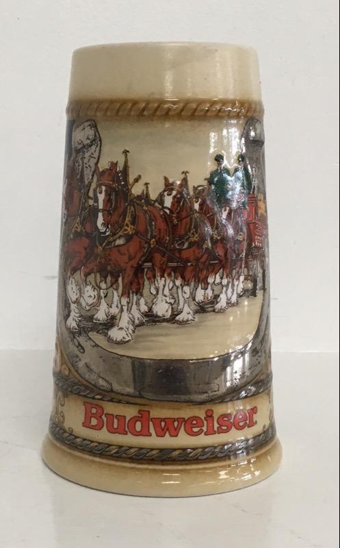 COLLECTABLE BUDWEISER BEER STEIN