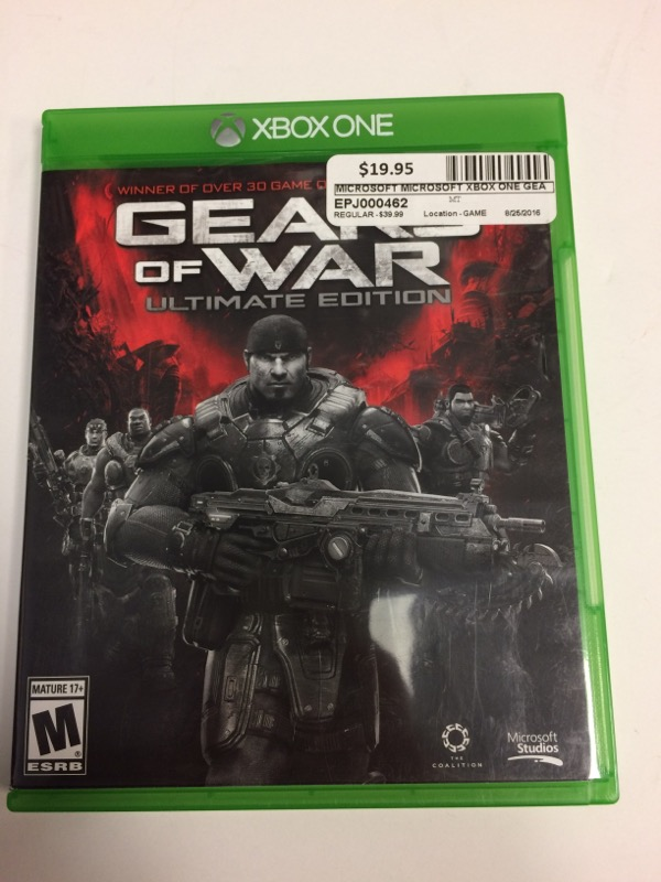 MICROSOFT Microsoft XBOX One Game GEARS OF WAR ULTIMATE EDITION