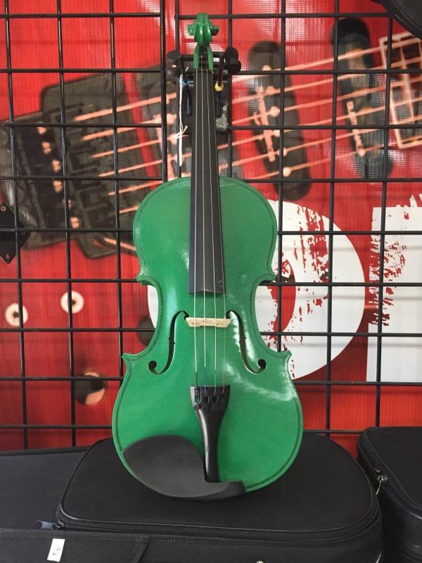 Violin STUDENT VIOLIN green