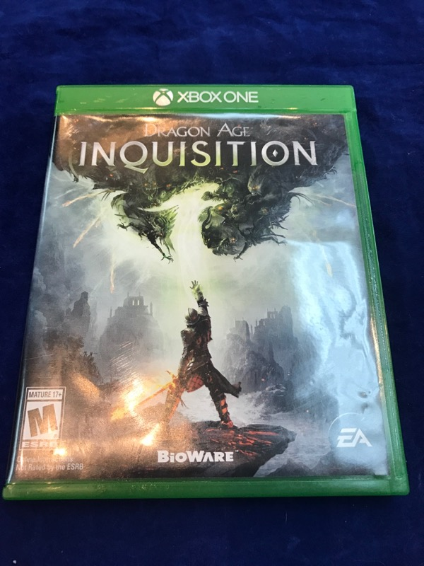 Microsoft XBOX One DRAGON AGE INQUISITION-Free Shipping