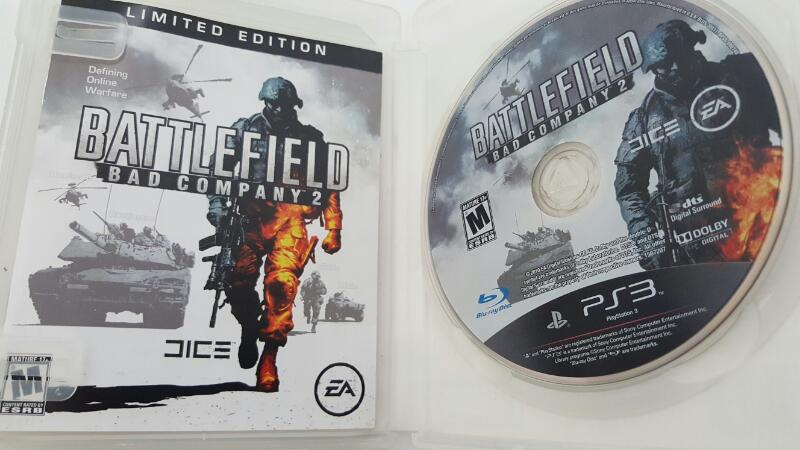 Sony PlayStation 3 Battlefield Bad Company 2