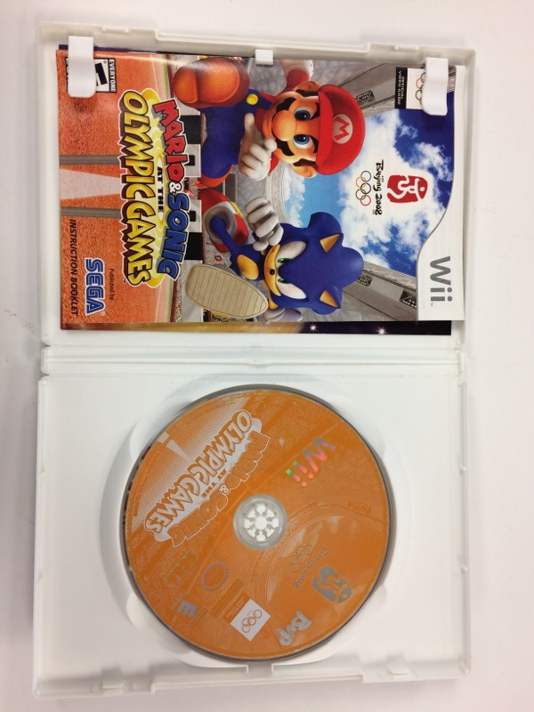 NINTENDO Nintendo Wii Game MARIO & SONIC AT THE OLYMPIC GAMES BEIJING 2008