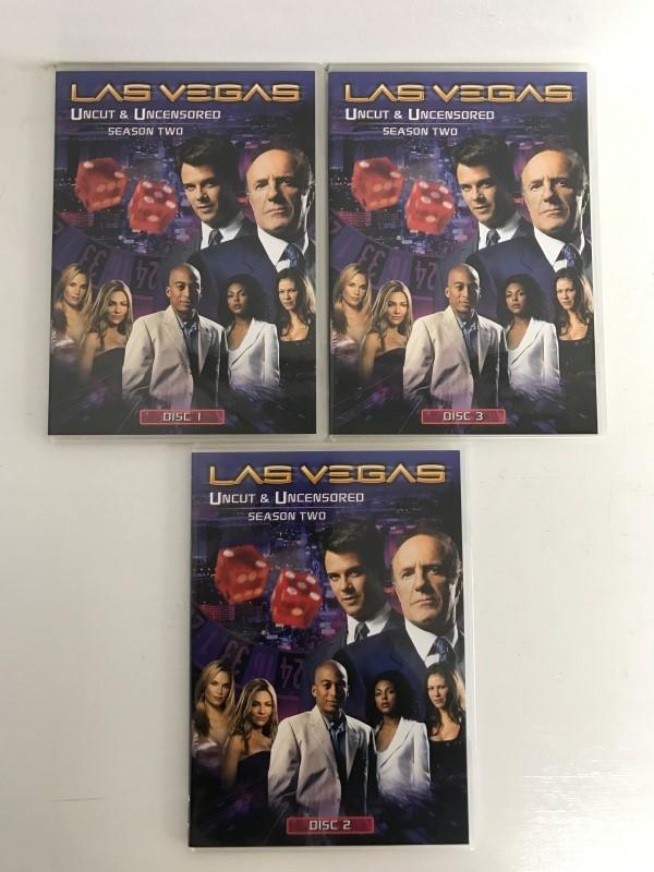 LAS VEGAS SEASON TWO DVD BOX SET UNCUT AND UNCENSORED