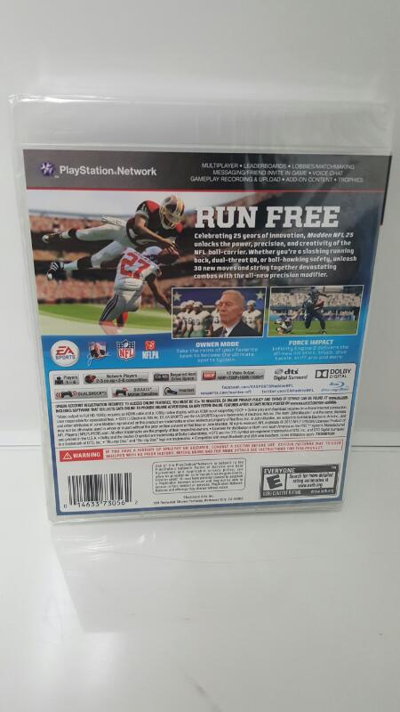 *NEW* Madden 25 (Sony Playstation 3, PS3)