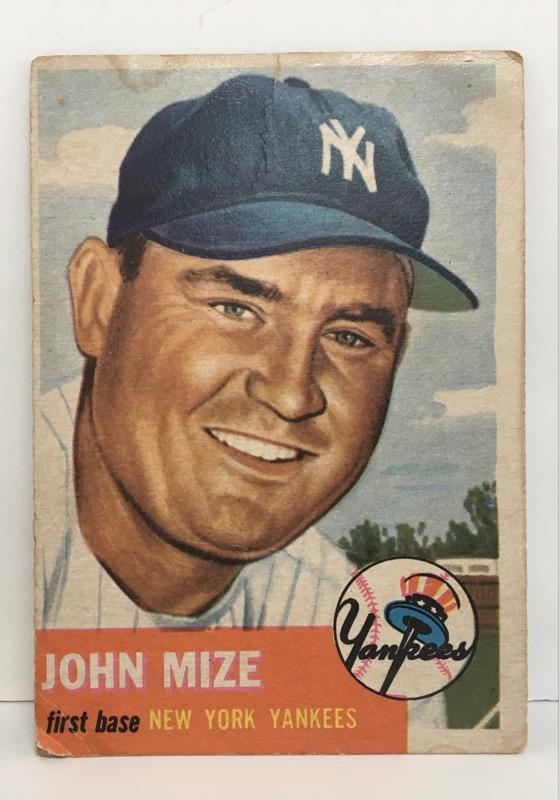 TOPPS Sports Memorabilia JOHN MIZE #77