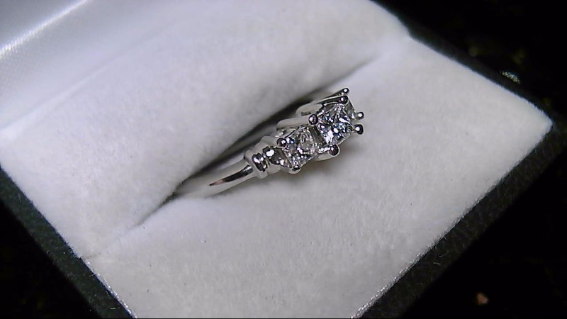 Platinum Diamond .55 CTTW Anniversary Ring 950