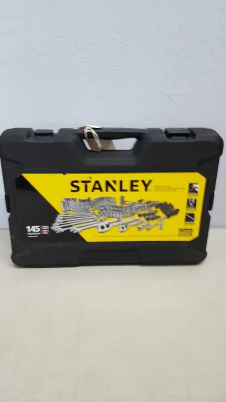 Stanley STMT71653 Mechanics TOOL SET, 145 Piece Chrome Vanadium Mixed TOOL SET