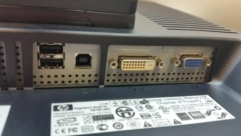 """HEWLETT PACKARD HP1745 17"""" COMPUTER MONITOR]"""