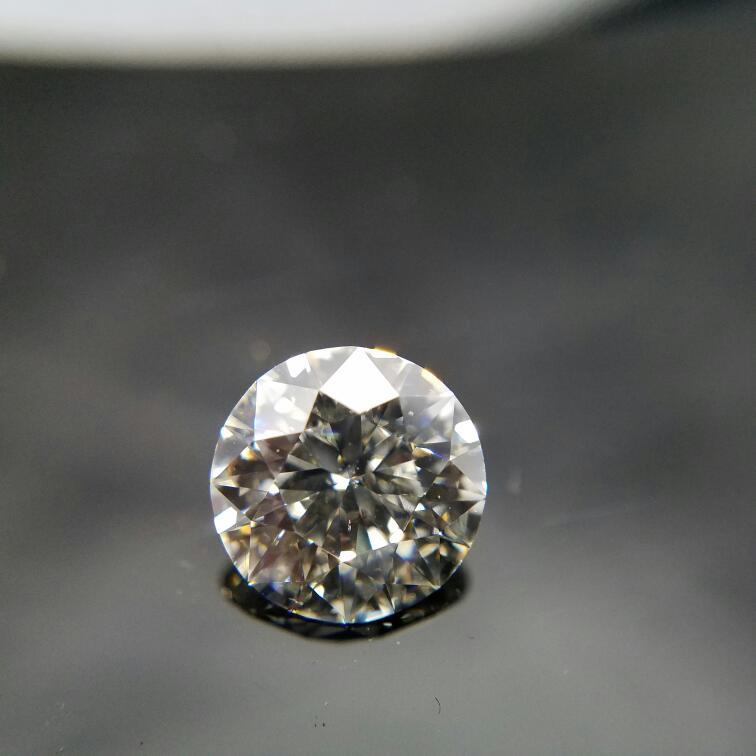 GIA CERTIFIED 2.03CT ROUND DIAMOND K-SI1