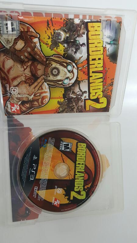Sony PlayStation 3 Game BORDERLANDS 2  PS3