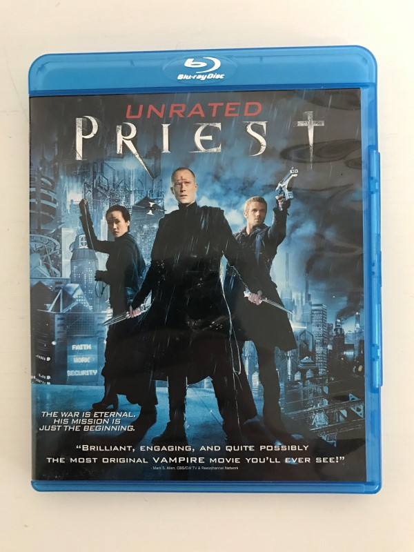 BLU-RAY MOVIE Blu-Ray PRIEST