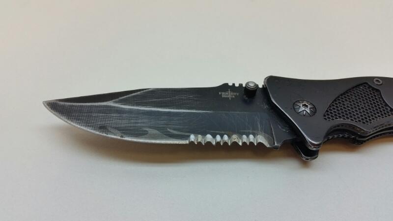 """FANTASY MASTER 4"""" FOLDING POCKET KNIFE STAINLESS STEEL]"""