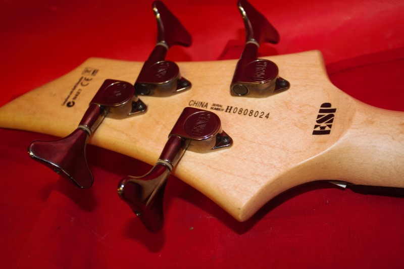 ESP LTD B10 4 String Electric Bass Guitar BLACK