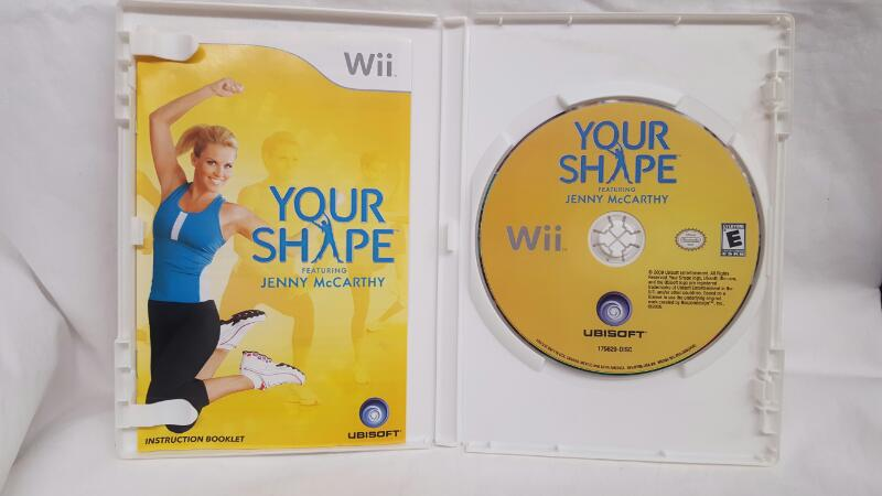 Nintendo Wii Game YOUR SHAPE