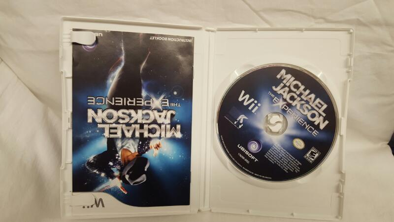 Nintendo Wii Game MICHAEL JACKSON THE EXPERIENCE