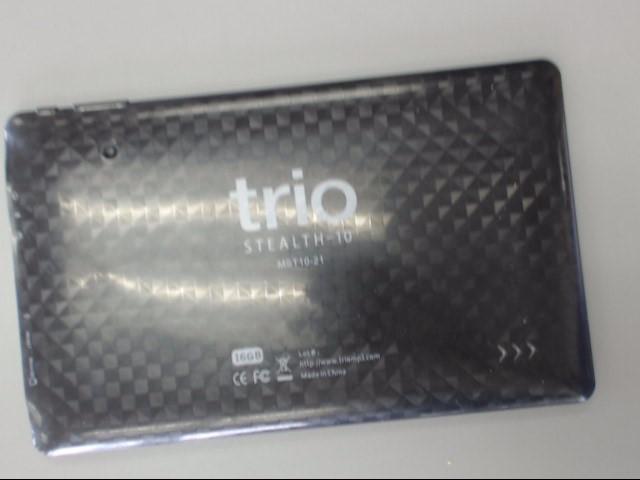 "Trio Stealth-10 G2 MST10-21 Tablet 10"" Display Dual Core 16GB Black"