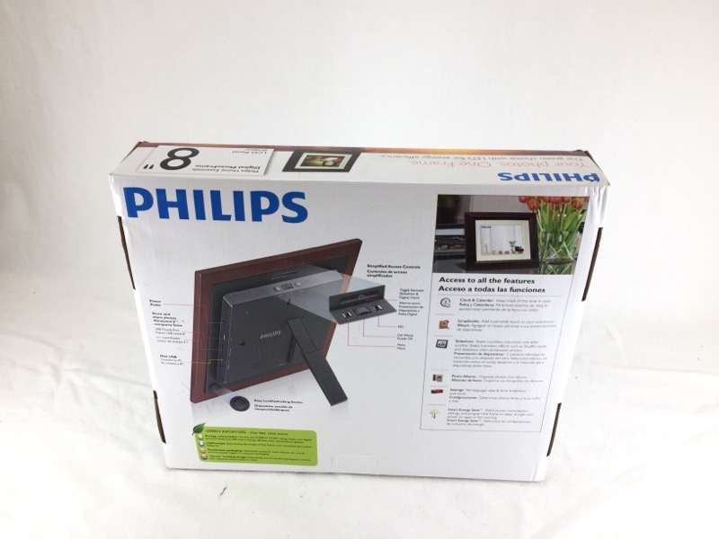 Philips 8 Digital Photo Frame Spf3482g7 Like New Pb Pawn