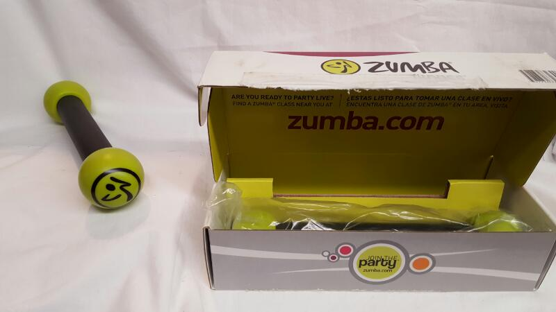 ZUMBA 1lb TONING STICKS