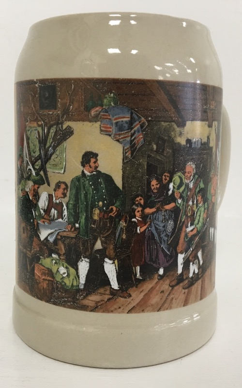 GERMANY Collectible Plate/Figurine BEER STEIN