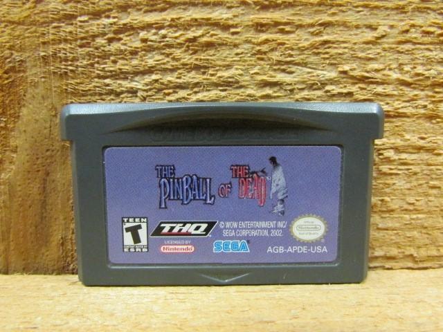 NINTENDO Nintendo GBA Game THE PINBALL OF THE DEAD