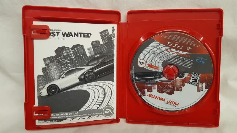 Sony PlayStation 3 Game NEED FOR SPEED MOST WANTED
